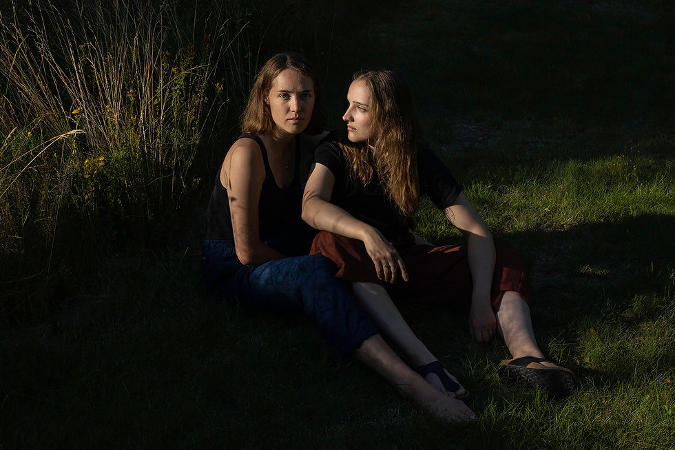 documentary portrait, documentary photography, twinsisters