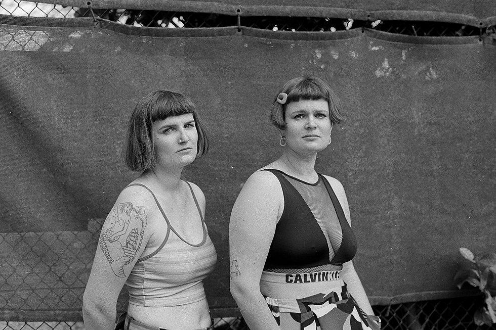 documentary portrait, analog photographer, bnw portrait