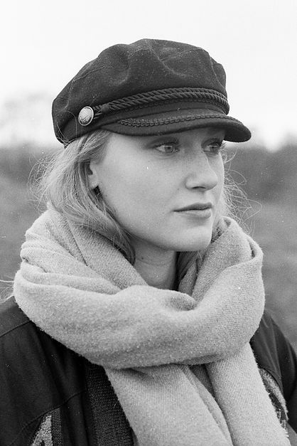 documentary portrait, analog photographer, bnw portrait