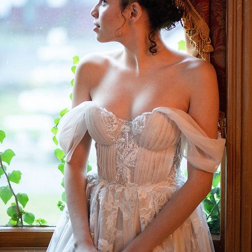 Princess Blush wedding dress