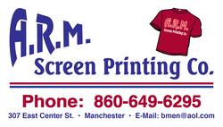 ARM Screen Printing