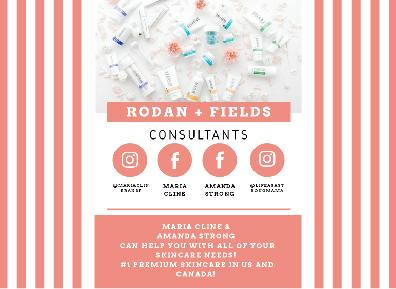 Rodan + Fields Maria Cline & Amanda Stro