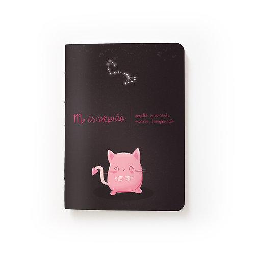 Caderno Mini - Signos - Escorpião