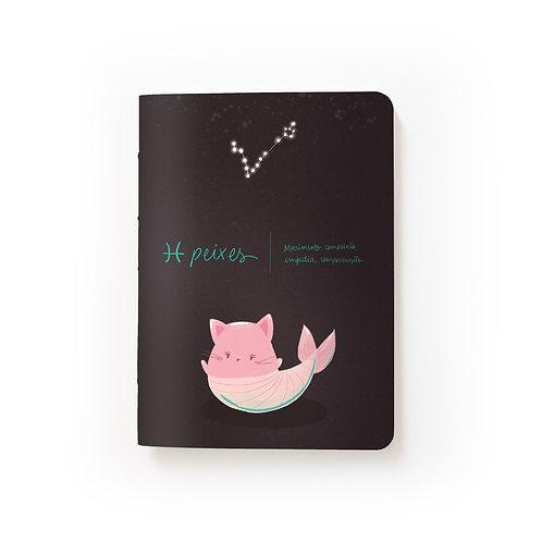 Caderno Mini - Signos - Peixes