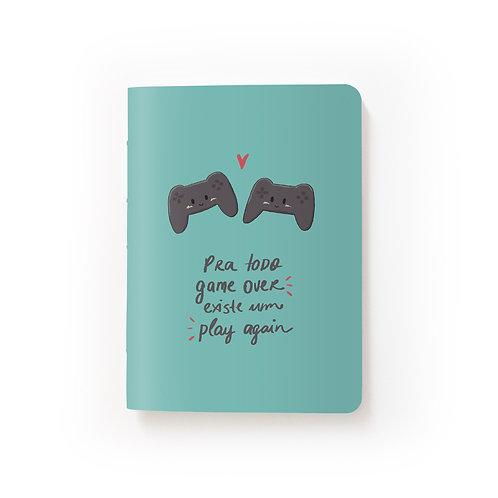 Caderno Mini - Play Again