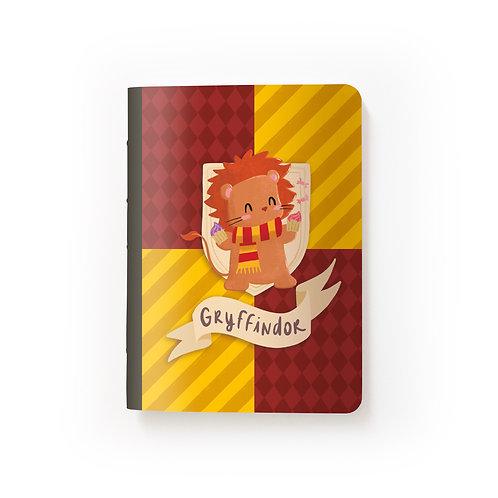 Caderno Mini - HP - Grifinória