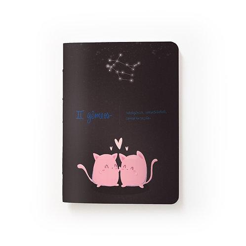 Caderno Mini - Signos - Gêmeos