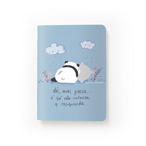 Caderno Mini - Dói, mas passa