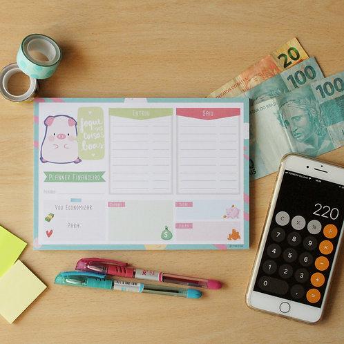 Planner Financeiro - Digital