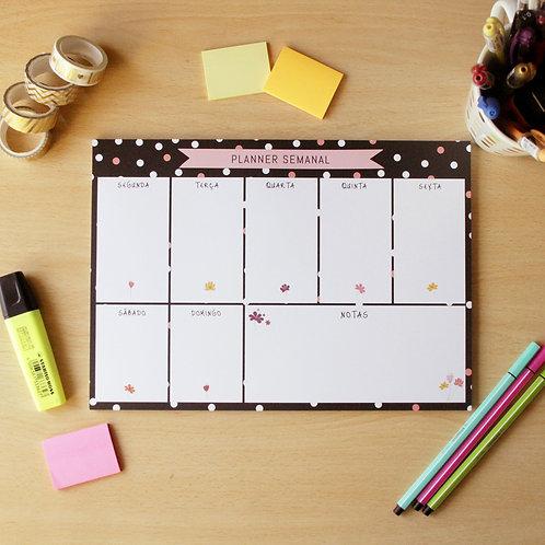 Planner Semanal - Poá