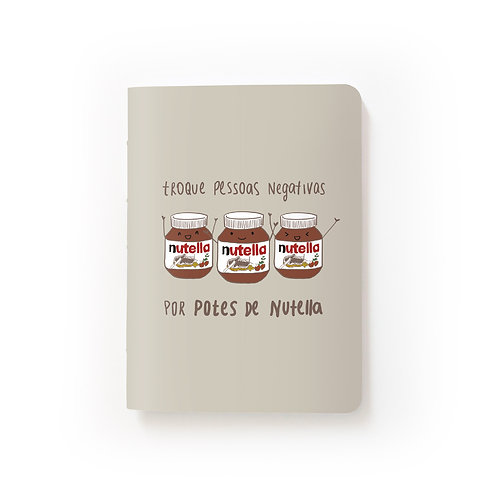 Caderno Mini - Nutella