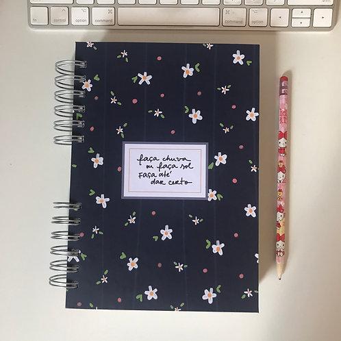 Caderno A5 - Frase customizável