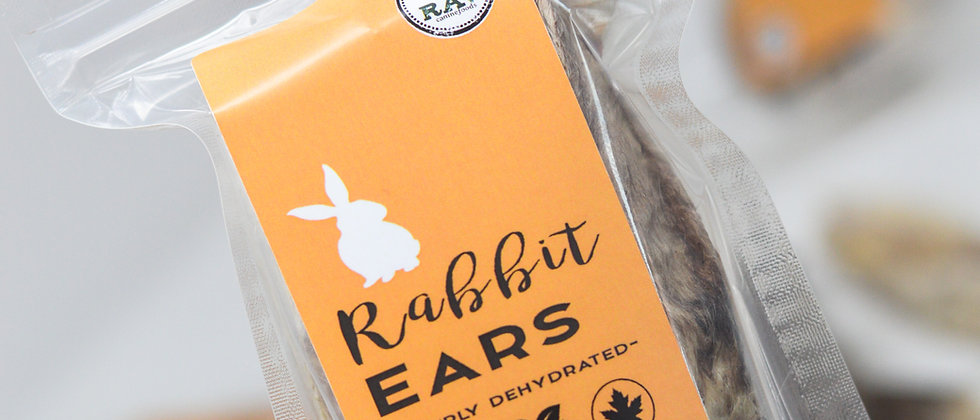 Dehydrated Rabbit Ears (5pcs)