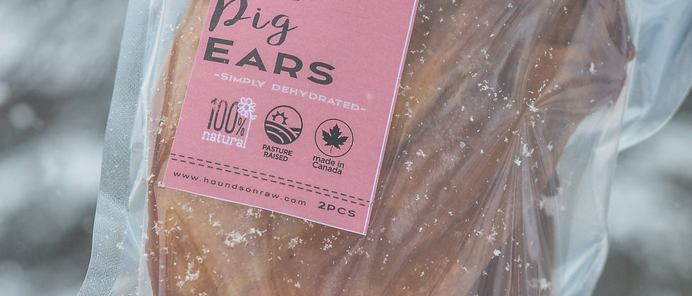 Dehydrated Pig Ears (2pcs)