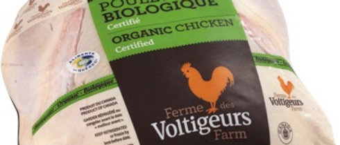Whole Certified Organic Chicken (per lb)