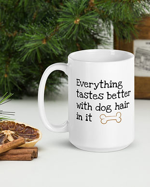 everything-tastesbetter-with-dog-hair-in
