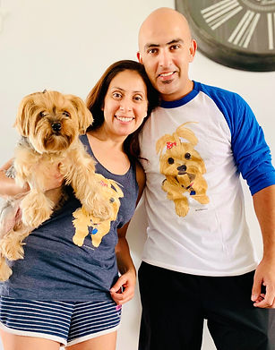 Shih Tzu dog portrait t-shirt