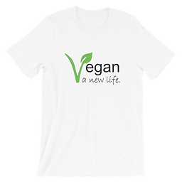 Vegan a New Life | Eco-friendly Unisex T-Shirt