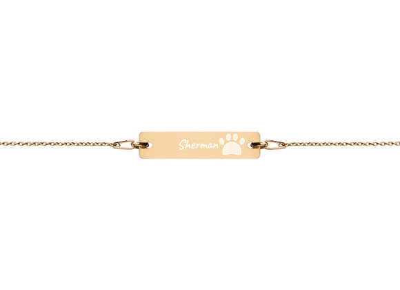 Personalized | Engraved | Bracelet with Coating