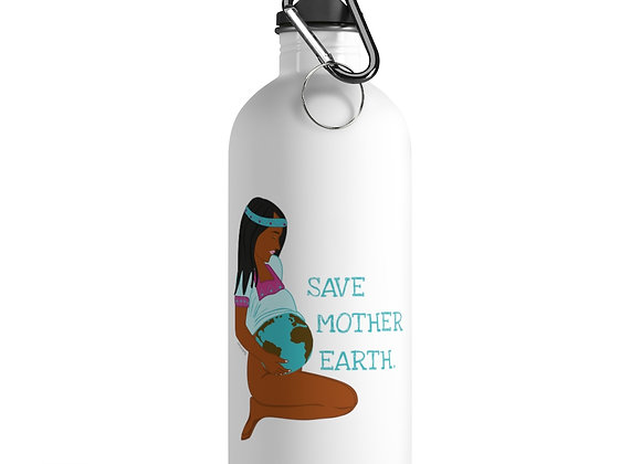 Save Mother Earth | Stainless Steel Water Bottle