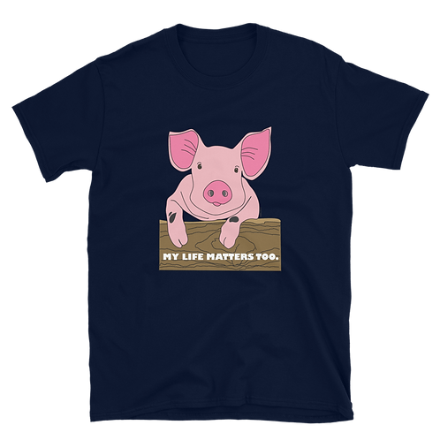 My Life Matters Too| Unisex Softstyle T-Shirt