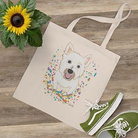 SketchPup! Fun Pet Painting Tote bag