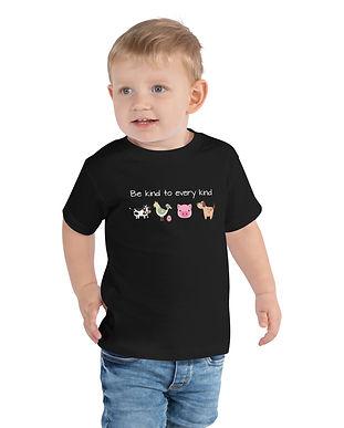 SketchPup! Be Kind to Every Kind Kids Tee