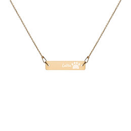 Personalized | Engraved | Necklace and Chain