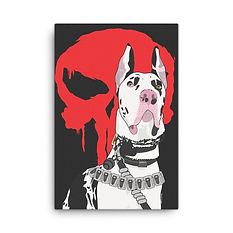 SketchPup! Grate Dane dog portrait
