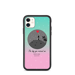 A tribute to our fur kids | Personalized Biodegradable iPhone Case