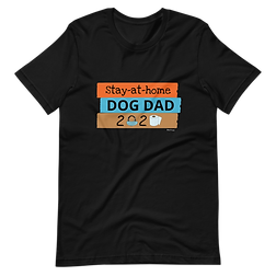 Stay at Home, Dog Dad| Softstyle T-Shirt