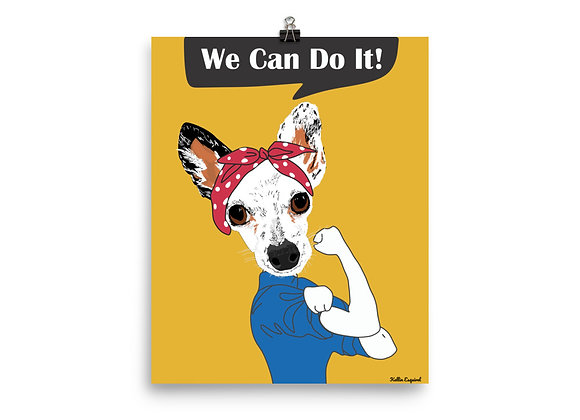 We can do it!| Enhanced Matte Paper Poster 8x10