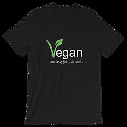 Vegan Caring for Animals | Eco-friendly Unisex  T-Shirt