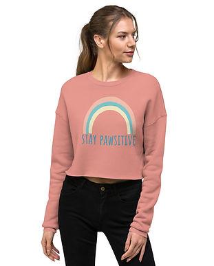 staypawsitivewomens-cropped-sweatshirt-m