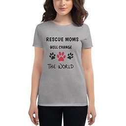 Rescue Moms will Save the World| Unisex Softstyle T-Shirt