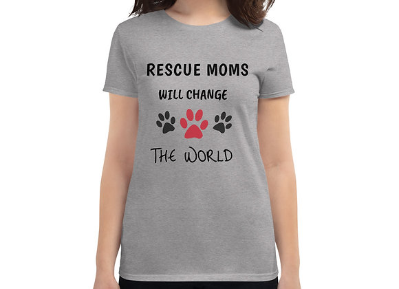 Rescue Moms will change the world| Unisex T-Shirt