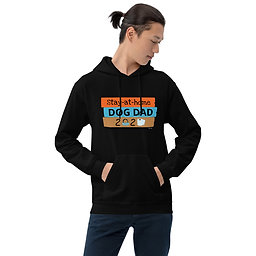 Stay at Home Dog Dad| Unisex Heavy Blend Hoodie