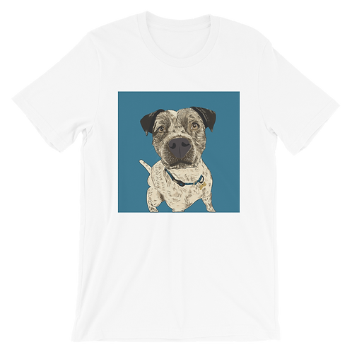 Custom Pet Portrait| Bella + Canvas Unisex T-shirt