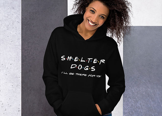 SketchPup! Shelter dogs hoodie