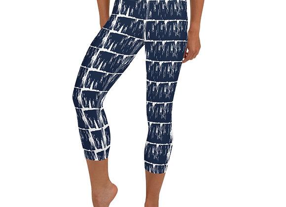 Paw   Yoga Capri Leggings with pocket
