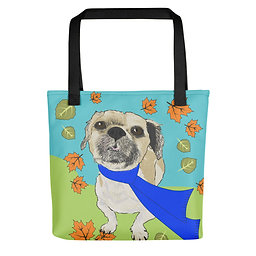 Custom Pet Portrait| All-Over Print Tote