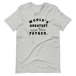 World's Greatest Father| Softstyle T-Shirt