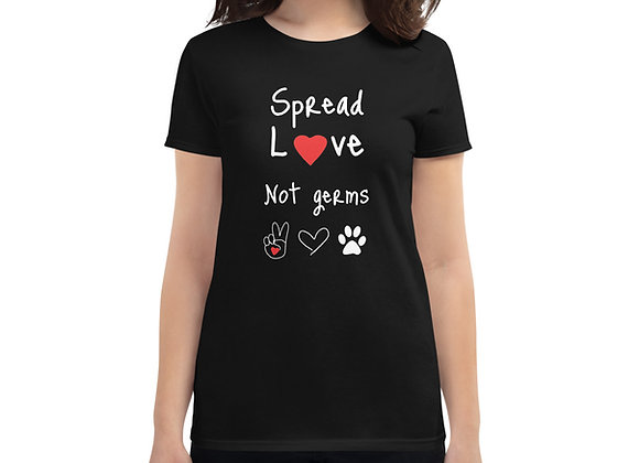 Spread Love, Not Germs | Unisex Softstyle T-Shirt