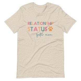 Relationship status, foster mom | Eco-friendly T-Shirt