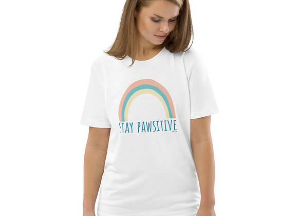 Stay Pawsitive | Unisex Eco-friendly T-Shirt