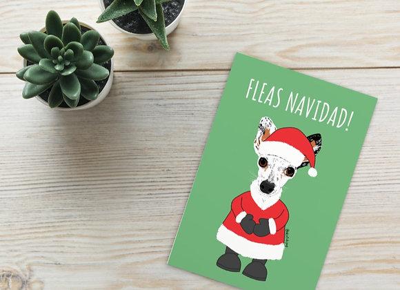 Fleas Navidad Greeting Cards   4x6