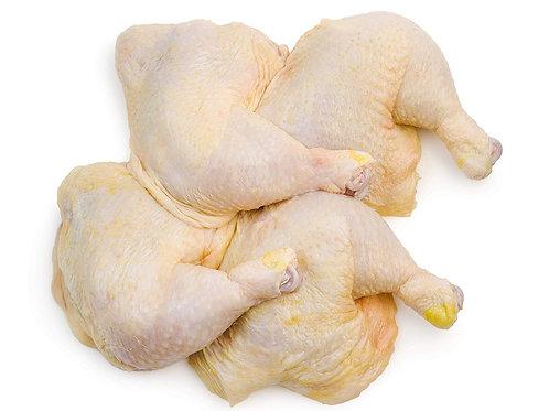 Leg Quarter Chicken w/o Fat (max 3 cut)