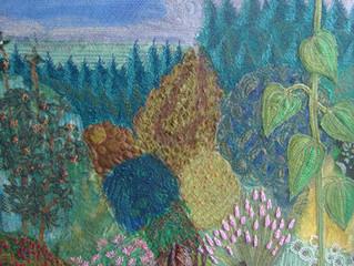 My Garden In Pillowell, Forest of Dean