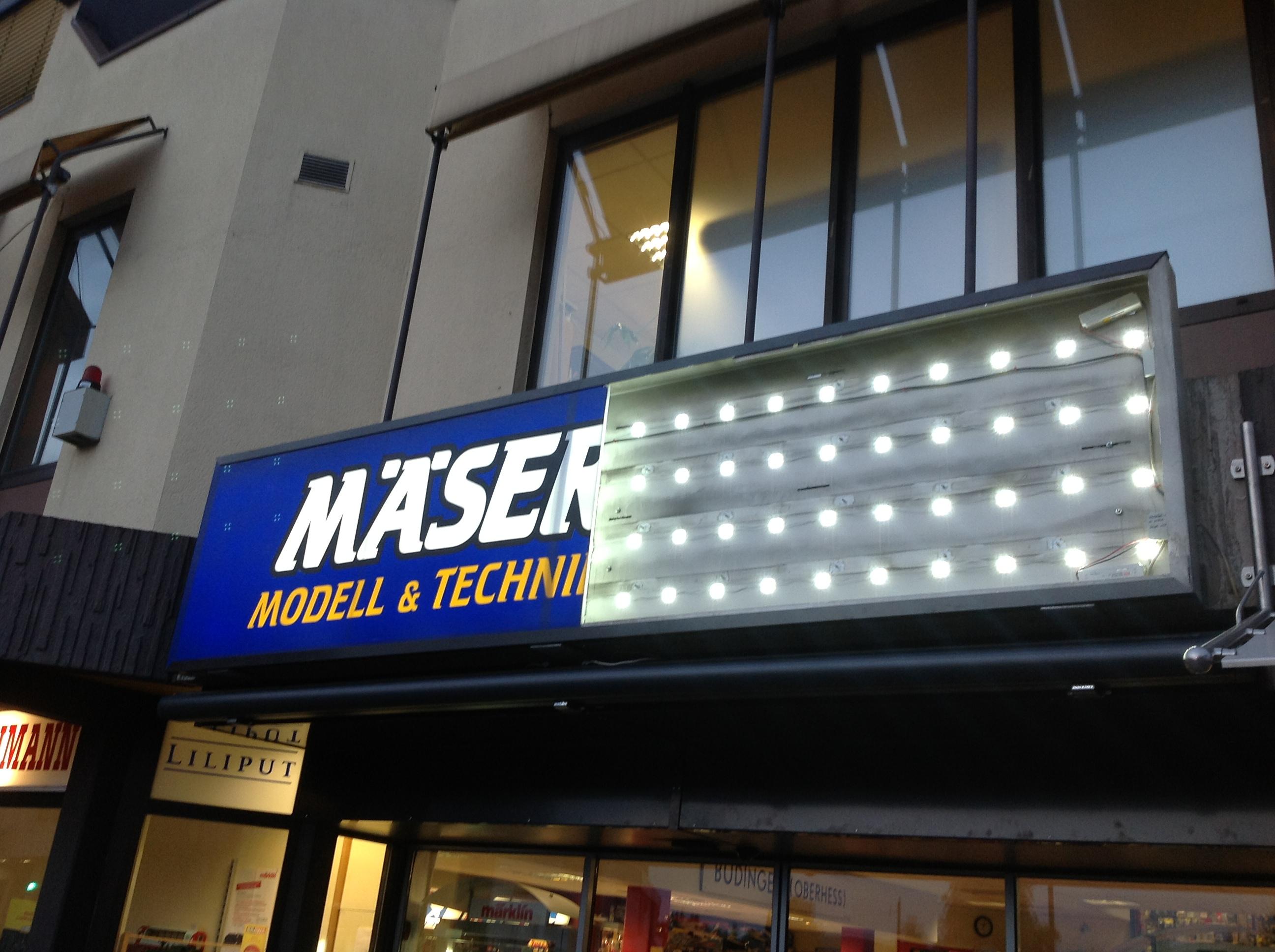 Spanntuchtransparent Maeser