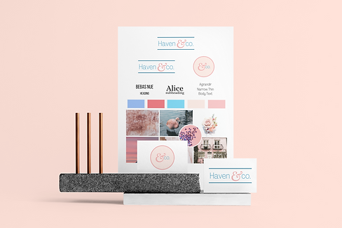 mockup-of-a-letterhead-and-some-business